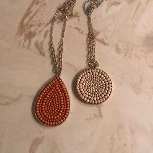 Two plunder necklaces